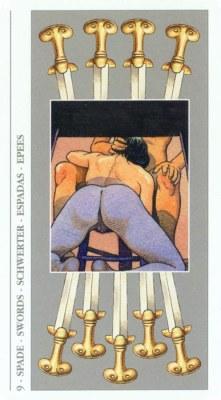 DECAMERON TAROT галерея таро и значения  - Страница 3 Swords09